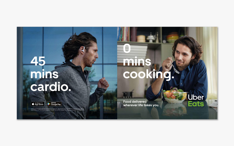 Uber Eats Advertentiecampagne